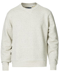 Relaxed Crew Neck Sweatshirt Heather Grey