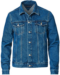 Trucker Denim Jacket Portland Indigo