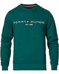 Logo Crew Neck Sweatshirt Rural Green