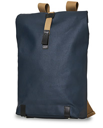 Pickwick Cotton Canvas 26L Backpack Dark Blue/Black