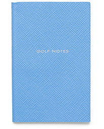 Crossgrain Notebook Nile Blue Golf Notes