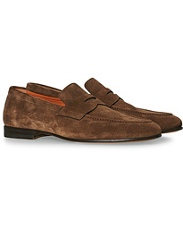Penny Loafer Brown Suede