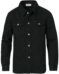 Get Organic Cotton Denim Jacket Black