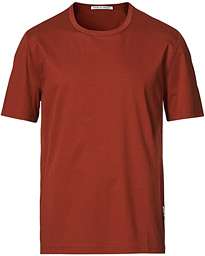 Olaf Crew Neck Tee Rost Red