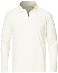 Truane Long Sleeve Polo Cream