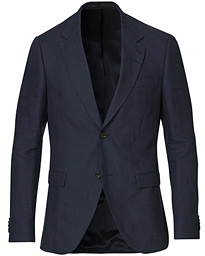 Jamonte Linen Suit Blazer Light Ink