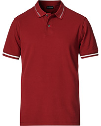 Stretch Polo Red