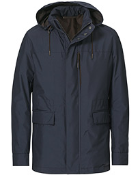 Stratos Waterrepellent Field Jacket Navy