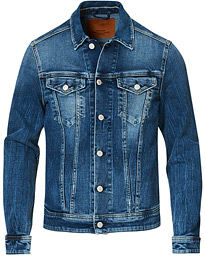 Five Years Wash Eco Denim Jacket Medium Blue