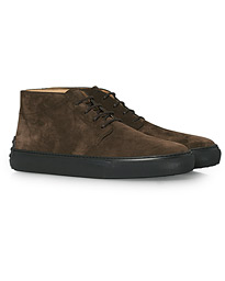 Polacco Cassetta Chukka Dark Brown Suede
