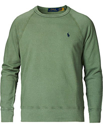 Spa Terry Sweatshirt Cargo Green