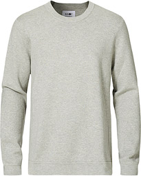 Luis Knitted Crew Neck Sweatshirt Grey
