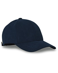 Alcantara Baseball Cap Space Blue