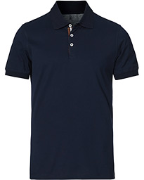 Grossgrain Short Sleeve Polo Navy
