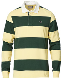 Grant Striped Rugger Yellow/Green