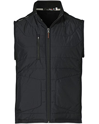 Hybrid Mid Layer Vest Black