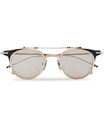 TB814 Flip-Up Sunglasses  Matte Navy/White Gold