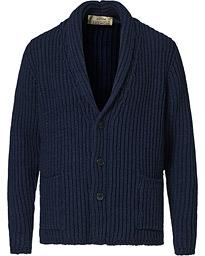 Shawl Collar Cardigan Navy