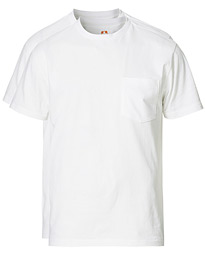 2-Pack Short Sleeve Pocket Tee White