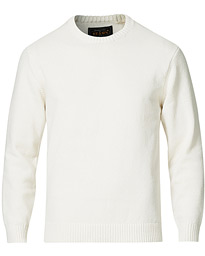 Lily Yarn Crew Neck White
