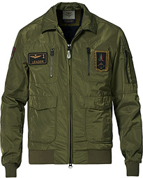 AB1719 Pilot Jacket Military Green