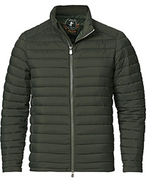 Arthur Matt Lightweight Padded Jacket Deep Green