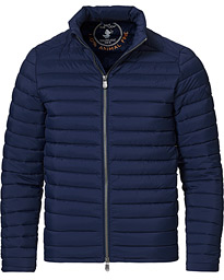 Arthur Matt Lightweight Padded Jacket Navy Blue