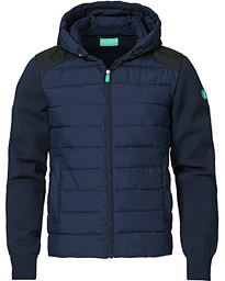 Samuel Recycled Hybrid Jacket Navy