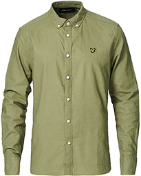 Linen/Cotton Shirt Moss