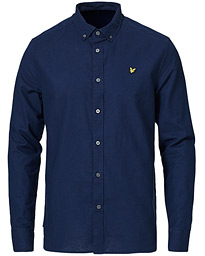 Linen/Cotton Shirt Navy