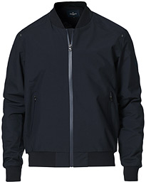 Tech Bomber Jacket Navy