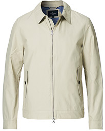 Cotton Harrington Jacket Stone