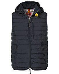Porter Lightweight Hooded Vest Black