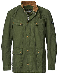 Summer Wash Duke Casual Jacket Racing Green