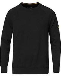 Cotton Crew Neck Black