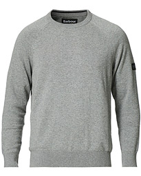 Cotton Crew Neck Antracite Marl