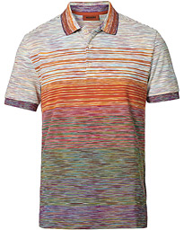 Space-Dye Short Sleeve Polo Multicolor