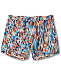 Space-Dye Swim Trunks Multicolor