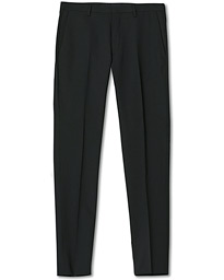 Thodd Wool Suit Trousers Black