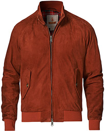 G9 Suede Jacket Rust