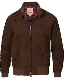 G9 Suede Jacket Chocolate