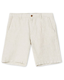 Crown Linen Shorts Oat