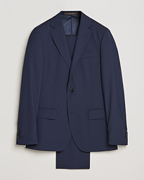 Edmund Suit Super 120's Wool Navy
