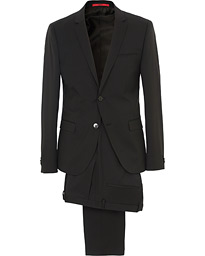 AlisterS Stretch Wool Suit Black