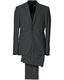 Henrie Wool Stretch Suit Grey