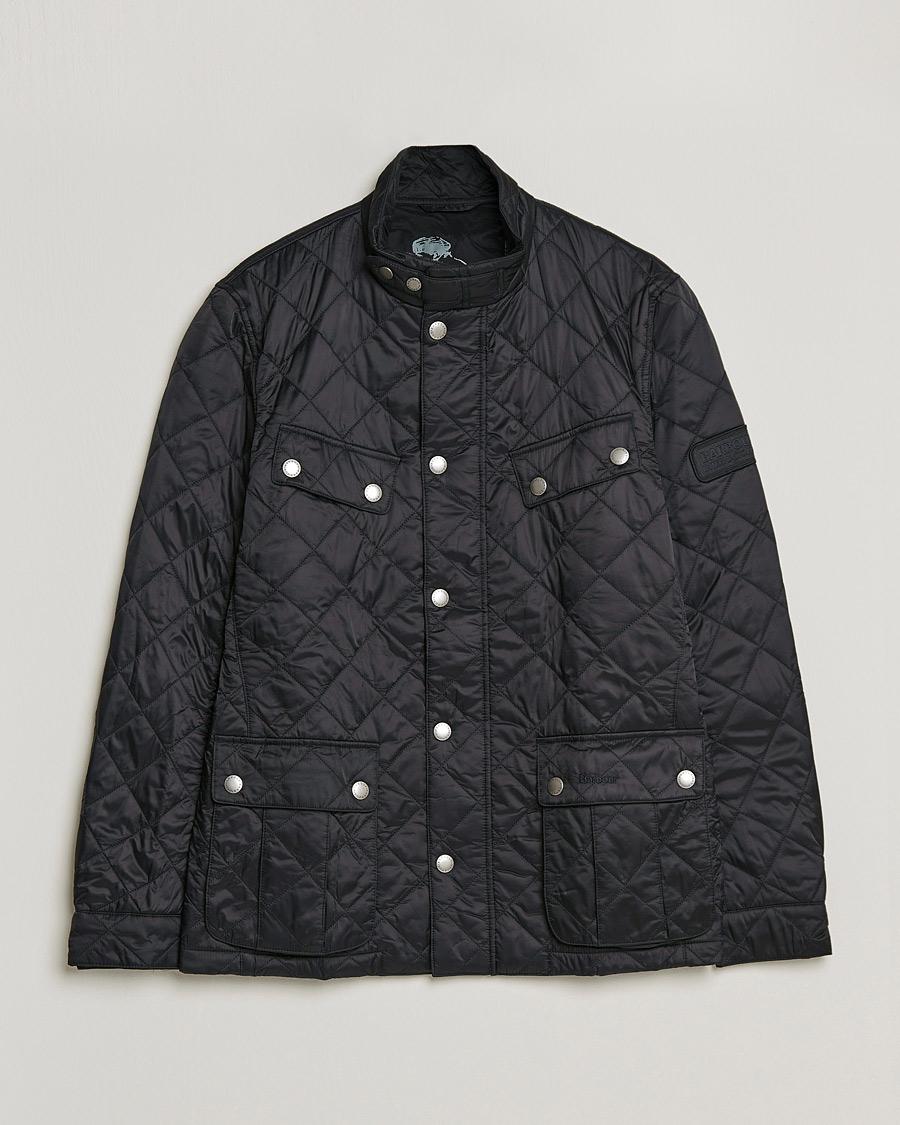 24b3df27 Barbour International Ariel Quilted Jacket Black hos CareOfCarl.n