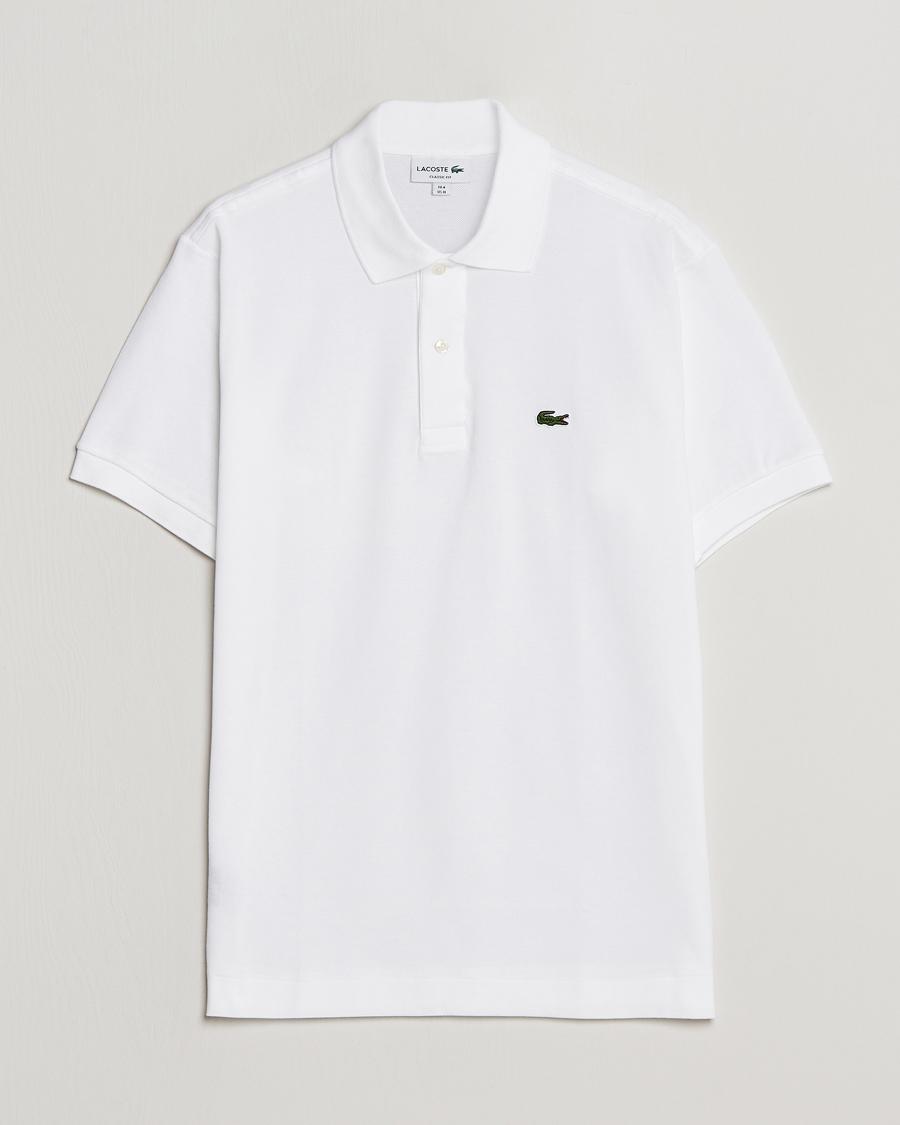 new style d5d5f c4bbc Lacoste Original Polo Piké White