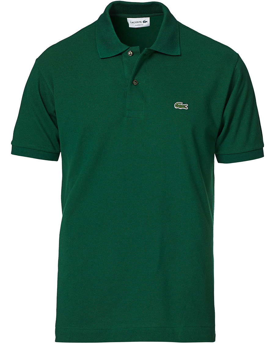 best loved 8178f f1363 Lacoste Original Polo Piké Green