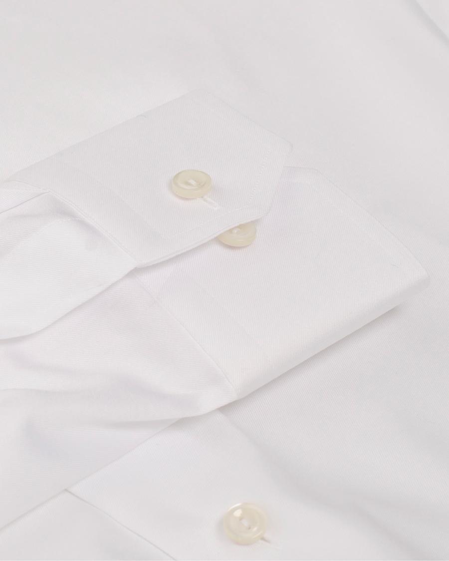 Hvit Slim Ekstra Lang Arm Skjorte | Eton | Dress skjorter