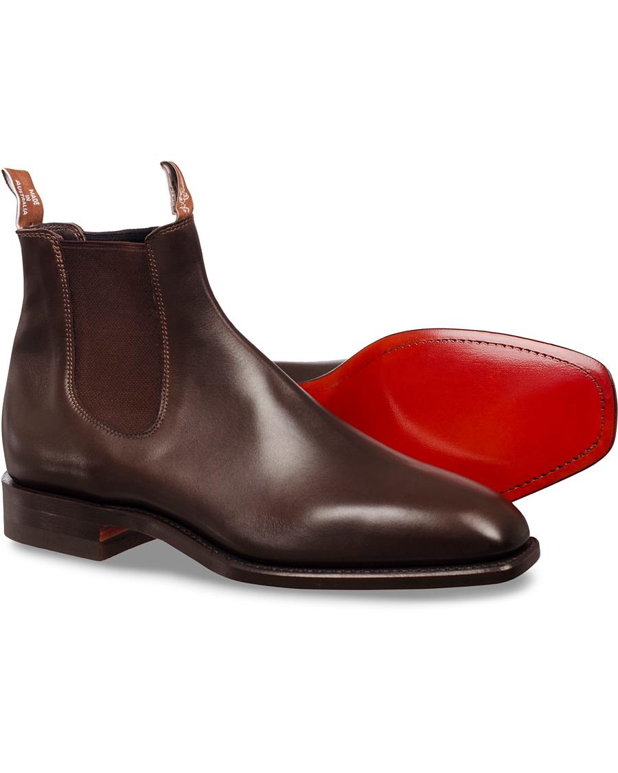 R.M.Williams Craftsman Signature G Boot Calf Chestnut hos